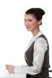 女实业家年轻人 免版税库存图片