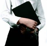 女实业家秘书 免版税库存照片