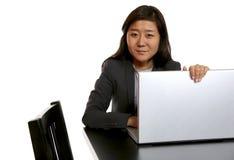 女实业家纵向 免版税图库摄影