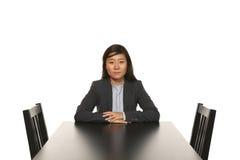 女实业家纵向 免版税库存图片