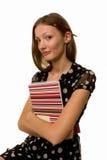 女实业家计划程序 库存照片
