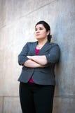 女实业家-纵向 免版税图库摄影