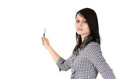 女实业家年轻人 库存照片