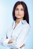 年轻女实业家 免版税图库摄影