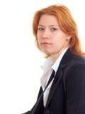 女实业家 免版税图库摄影