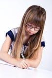 家庭作业 免版税库存照片
