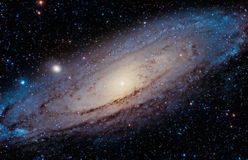仙女座星系 库存图片