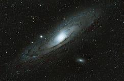 仙女座星系M31 -天文 库存照片