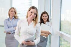 女性企业小组 库存图片