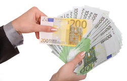 女性保证金 免版税图库摄影