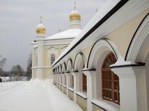 女性修道院novo tikhvin 免版税库存图片
