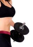 女性健身躯干 库存照片