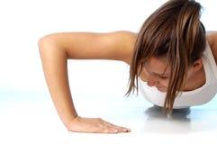女性健身 图库摄影