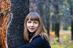 女性公园 免版税图库摄影