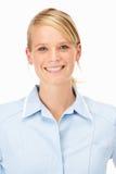 女性医疗专业工作室 免版税图库摄影