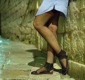 女性妓女 库存照片