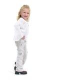 女性小孩时髦年轻人 库存照片
