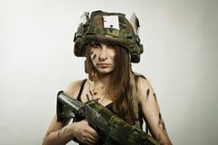 女性战士 图库摄影