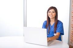 女性护士 免版税库存图片