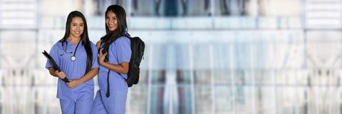 女性护理学生 免版税图库摄影