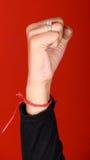 女性拳头 库存图片