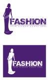 女性时尚标志 免版税库存图片