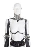女性机器人时装模特躯干 免版税库存照片