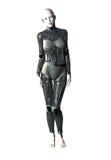 女性机器人 向量例证