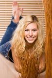 女性模型年轻人 免版税图库摄影
