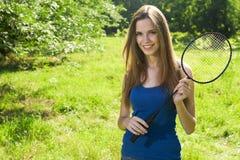 女性球员网球 库存图片