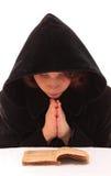 女性祈祷 免版税库存图片