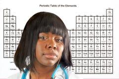 女性科学家 库存照片