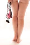女性美好的英尺 免版税库存照片
