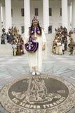 女性美洲印第安人 免版税图库摄影