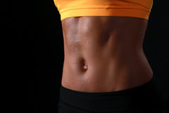 女性腹部 免版税图库摄影