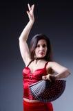 女性舞蹈演员 免版税库存图片