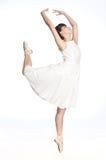 女性芭蕾舞女演员 库存照片