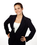 女性西班牙专业年轻人 免版税库存照片