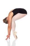 女性跳芭蕾舞者 库存图片