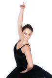 女性跳芭蕾舞者 图库摄影