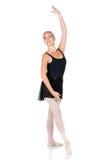 女性跳芭蕾舞者 免版税库存图片