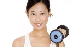 女性锻炼 库存图片
