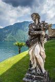 女性雕象 免版税图库摄影