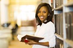 女性非裔美国人的学生 库存照片