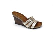 女性鞋子夏天 免版税库存图片