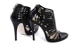 女性鞋子 免版税库存图片