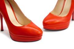 女性鞋类102 免版税图库摄影