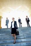 女性领导先锋 免版税图库摄影