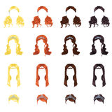 女性头发 图库摄影