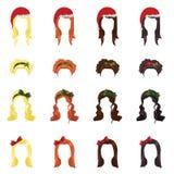 女性头发 免版税库存图片